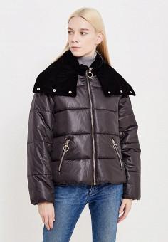 Куртка утепленная, Pinko, цвет: черный. Артикул: PI754EWUKK92. Премиум / Одежда / Верхняя одежда