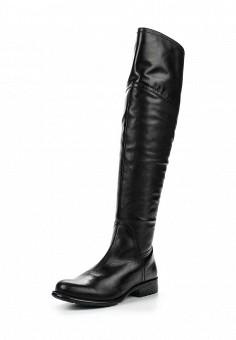 Ботфорты, Ralf Ringer, цвет: черный. Артикул: RA084AWLCC56. Женская обувь / Сапоги