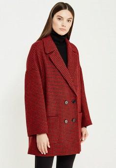 Пальто, Red Valentino, цвет: красный. Артикул: RE025EWTDE49. Премиум / Одежда / Верхняя одежда