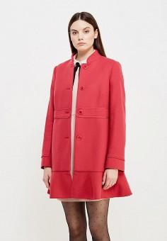Пальто, Red Valentino, цвет: розовый. Артикул: RE025EWTDE53. Премиум / Одежда / Верхняя одежда