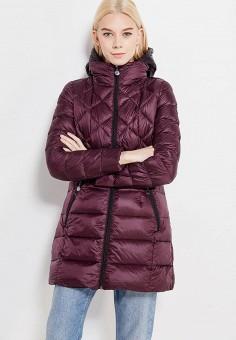 Пуховик, Savage, цвет: бордовый, фиолетовый. Артикул: SA004EWVJW35. Женская одежда / Верхняя одежда / Пуховики и зимние куртки