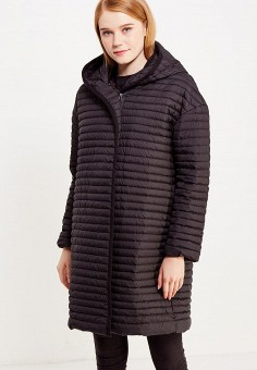Пуховик, Savage, цвет: черный. Артикул: SA004EWVJX02. Женская одежда / Верхняя одежда / Пуховики и зимние куртки