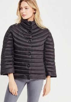 Пуховик, Savage, цвет: черный. Артикул: SA004EWVJX06. Женская одежда / Верхняя одежда / Пуховики и зимние куртки