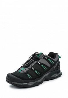 Ботинки трекинговые, Salomon, цвет: черный. Артикул: SA007AMUHK44. Мужская обувь / Ботинки и сапоги