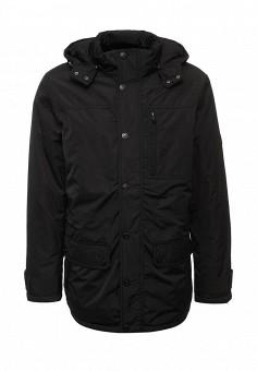 Куртка утепленная, Sela, цвет: черный. Артикул: SE001EMUSB49. Мужская одежда / Верхняя одежда / Пуховики и зимние куртки