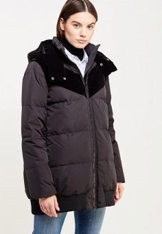 Пуховик, Sportmax Code, цвет: черный. Артикул: SP027EWTMG79. Премиум / Одежда / Верхняя одежда