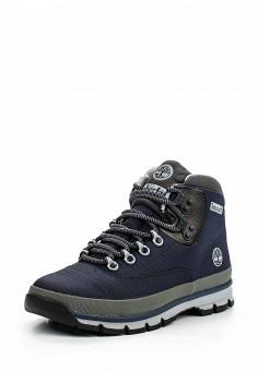 Ботинки, Timberland, цвет: синий. Артикул: TI007AMLTP35. Мужская обувь / Ботинки и сапоги