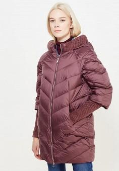 Пуховик, Tom Farr, цвет: бордовый. Артикул: TO005EWWUV99. Женская одежда / Верхняя одежда / Пуховики и зимние куртки