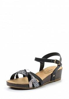 Босоножки, Topway, цвет: черный. Артикул: TO038AWTOB02. Женская обувь / Босоножки