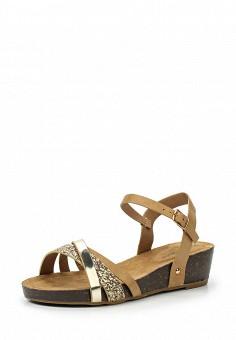 Босоножки, Topway, цвет: коричневый. Артикул: TO038AWTOB03. Женская обувь / Босоножки