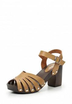 Босоножки, Topway, цвет: коричневый. Артикул: TO038AWTOB05. Женская обувь / Босоножки