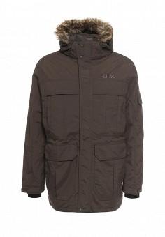 Пуховик, Trespass, цвет: хаки. Артикул: TR795EMNIP74. Мужская одежда / Верхняя одежда / Пуховики и зимние куртки