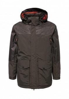 Куртка утепленная, Trespass, цвет: хаки. Артикул: TR795EMWXO60. Мужская одежда / Верхняя одежда / Пуховики и зимние куртки