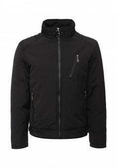 Куртка утепленная, Vanzeer, цвет: черный. Артикул: VA016EMWKJ13. Мужская одежда / Верхняя одежда / Пуховики и зимние куртки