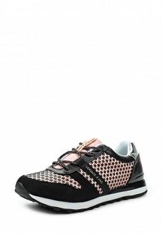 Кроссовки, Versace Jeans, цвет: розовый. Артикул: VE006AWOLS27. Премиум / Обувь / Кроссовки и кеды