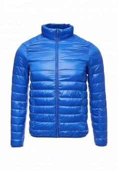 Пуховик, Vitario, цвет: синий. Артикул: VI056EMXFA26. Мужская одежда / Верхняя одежда / Пуховики и зимние куртки