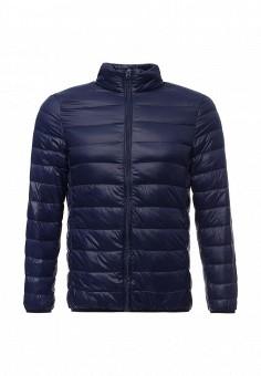 Пуховик, Vitario, цвет: синий. Артикул: VI056EMXFA27. Мужская одежда / Верхняя одежда / Пуховики и зимние куртки