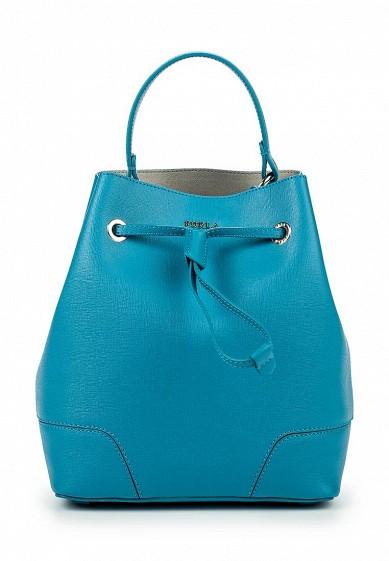Купить синюю сумку furla