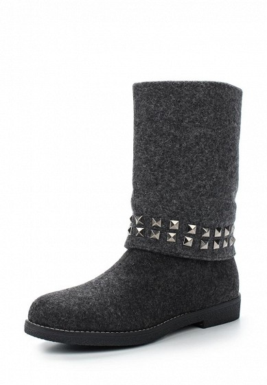 Валенки LOST INK CARLA STUD DETAIL FELT BOOT 'RX'