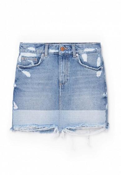 Mango джинсовая юбка