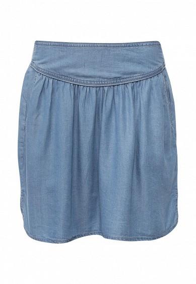 юбка из органзы флористической